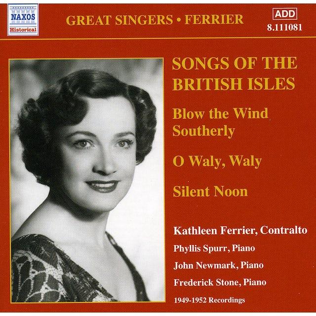 Kathleen Ferrier SONGS OF THE BRITISH ISLES CD