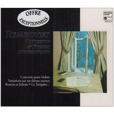 P.I. Tchaikovsky CONCERTOS POUR VIOLON CD
