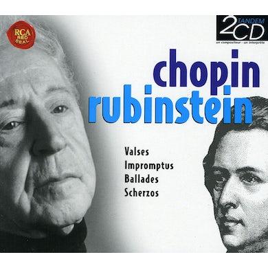 Arthur Rubinstein VALSES IMPROMPTUS BALLADES CD