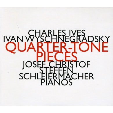 Steffen Schleiermacher QUARTER-TONE PIECES CD