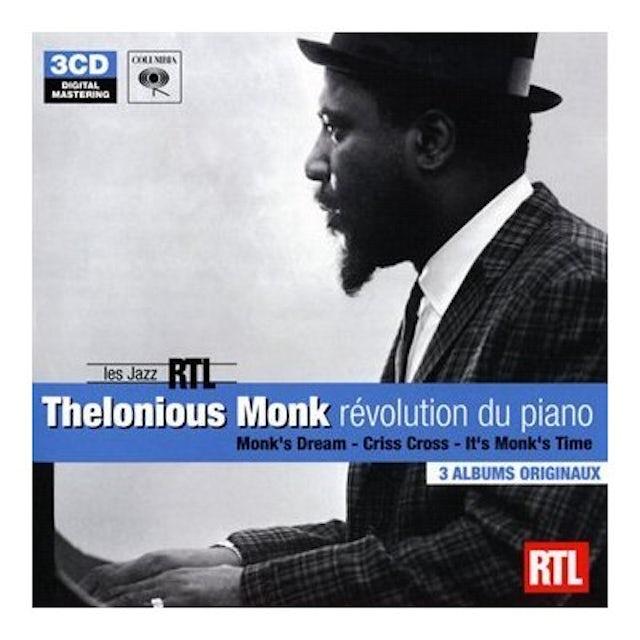 Thelonious Monk LES JAZZ RTL CD