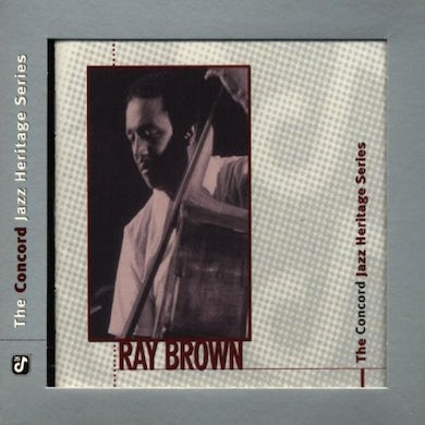 Ray Brown CONCORD JAZZ HERITAGE SERIES CD