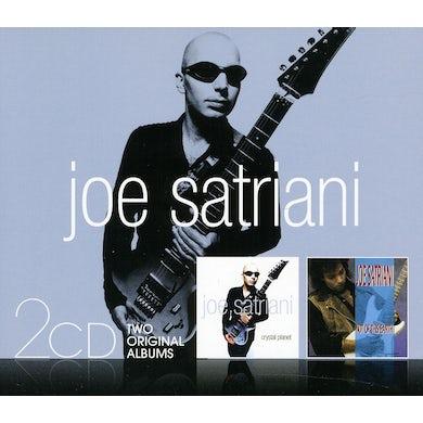 Joe Satriani CRYSTAL PLANET & NOT OF THIS EARTH CD