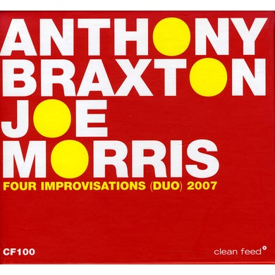 Anthony Braxton FOUR IMPROVISATIONS (DUO) 2007 CD