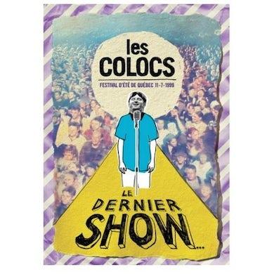 Les Colocs LE DERNIER SHOW (FESTIVAL D'ETE DE QUEBEC 1999) DVD