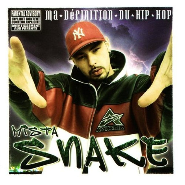 Mista Snake MA DEFINITION DU HIP HOP CD