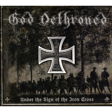 God Dethroned UNDER THE SIGN OF THE IRON CRO CD