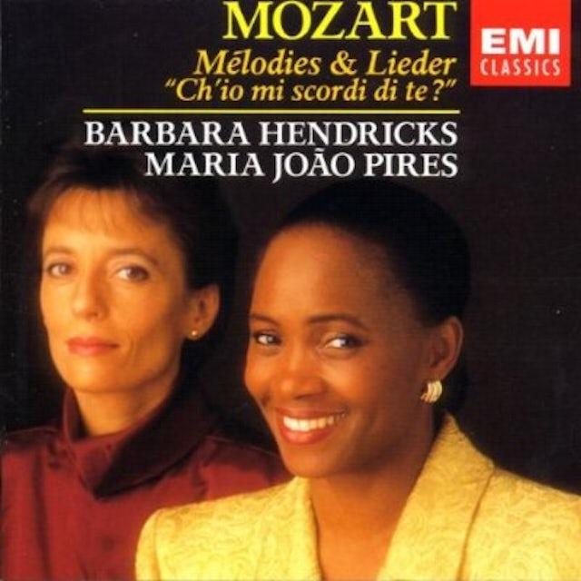W.A. Mozart LIEDER CD