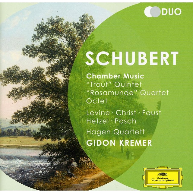 F. Schubert CHAMBER MUSIC CD