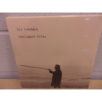 Ulf Lundell UNPLUGGED SOLO (GER) Vinyl Record