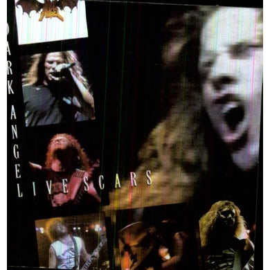 Dark Angel LIVE SCARS CD