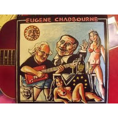 Eugene Chadbourne ROLL OVER BERLOSCONI Vinyl Record