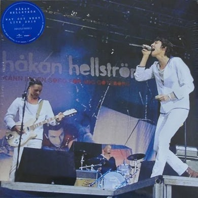 Hakan Hellstrom WAY OUT WEST 2010 Vinyl Record - Sweden Release