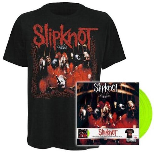 Slipknot DEBUT ALBUM LP+SHIRT Vinyl Record - Portugal Release