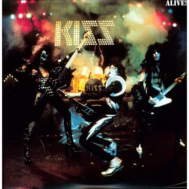 Kiss ALIVE! Vinyl Record - Holland Release