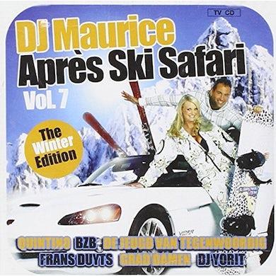 DJ Maurice APRES SKI SAFARI 7 CD