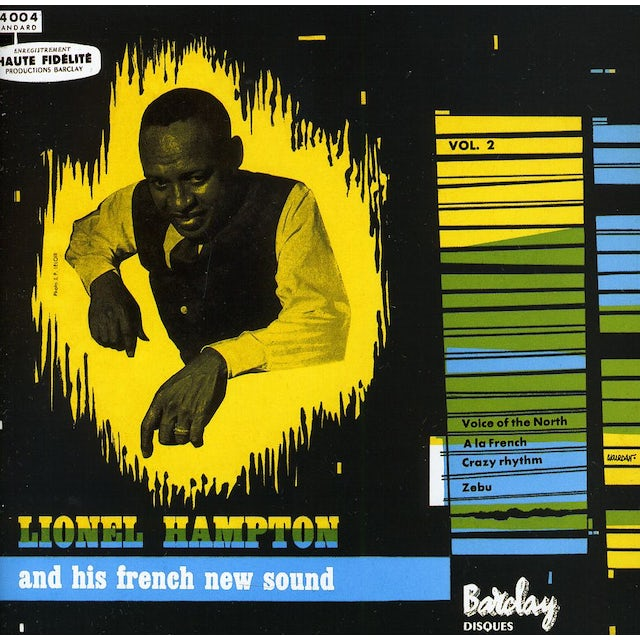Lionel Hampton AND HIS FRENCH NEW SOUND VOL. 2 CD