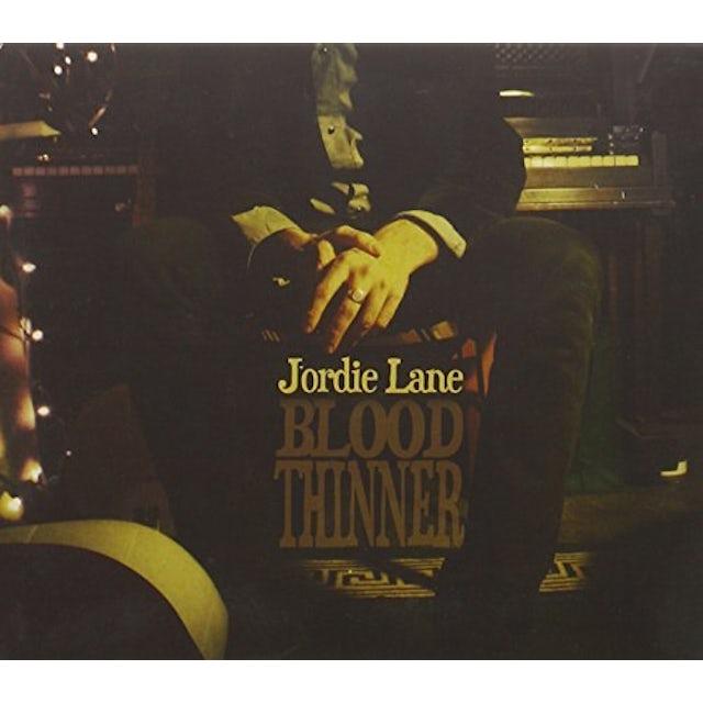 Jordie Lane BLOOD THINNER CD