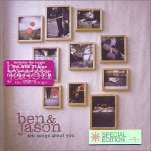 Ben & Jason 10 SONGS ABOUT YOU CD