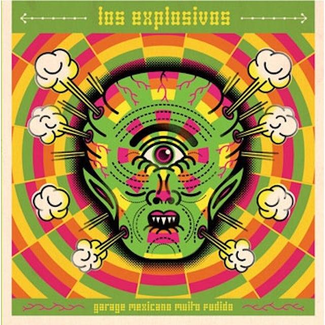 Los Explosivos GARAGE MEXICANO MUITO.. Vinyl Record