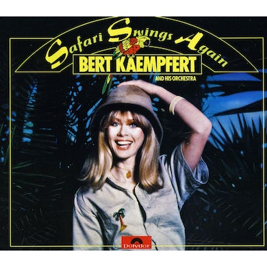 Bert Kaempfert SAFARI SWINGS AGAIN CD