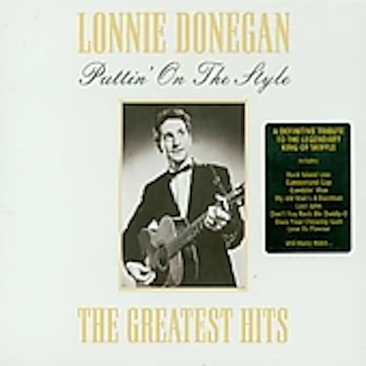 Lonnie Donegan PUTTING ON THE STYLE CD