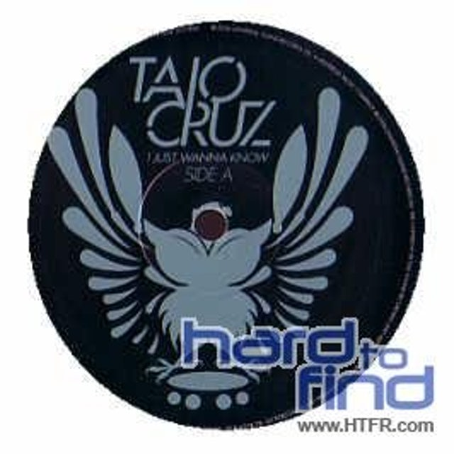 Taio Cruz I JUST WANNA KNOW Vinyl Record