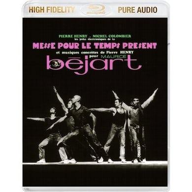 Pierre Henry MESSE POUR LE TEMPS PRESENT DVD Audio