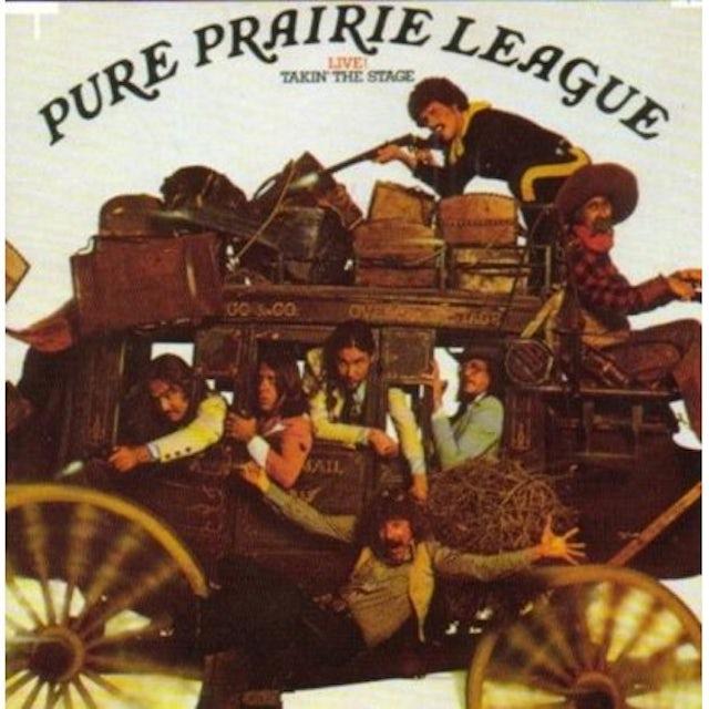 Pure Prairie League LIVE: TAKIN THE STAGE CD