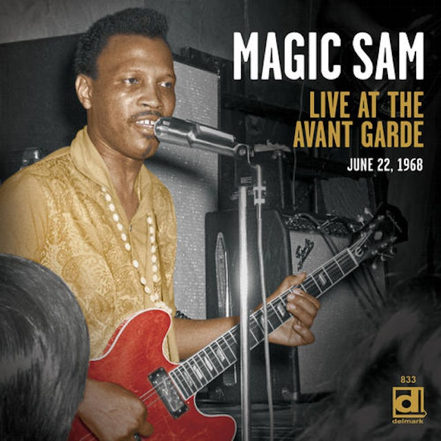 Magic Sam LIVE AT THE AVANT GARDE CD