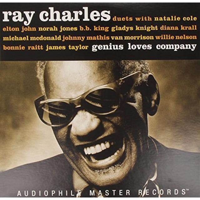 Ray Charles GENIUS LOVES COMPANY Vinyl Record