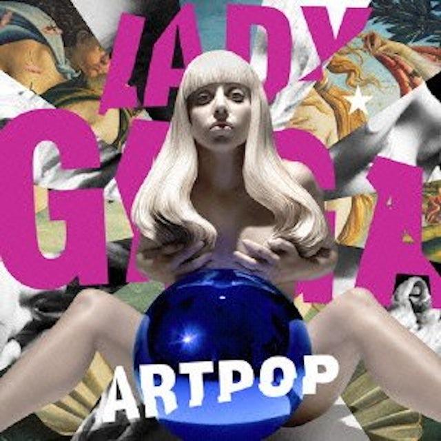 Lady Gaga ART POP CD