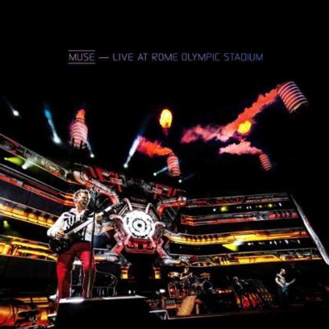 Muse LIVE AT ROME OLYMPIC STADIUM CD