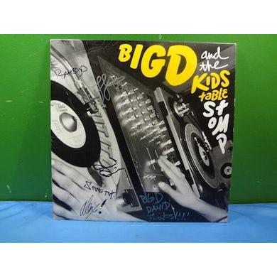 Big D & Kids Table STOMP Vinyl Record
