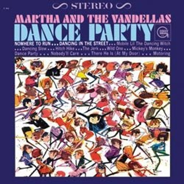 Martha & The Vandellas DANCE PARTY Vinyl Record - 180 Gram Pressing