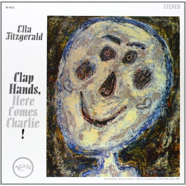 Ella Fitzgerald CLAP HANDS HERE COMES CHARLIE Vinyl Record - 180 Gram Pressing
