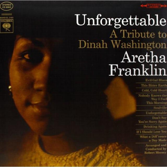 Aretha Franklin UNFORGETTABLE Vinyl Record