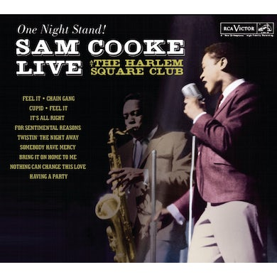 Sam Cooke ONE NIGHT STAND: LIVE AT THE HARLEM SQUARE CLUB 63 CD