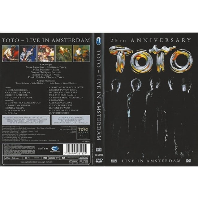 Toto 25TH ANNIVERSARY: LIVE Vinyl Record - 180 Gram Pressing