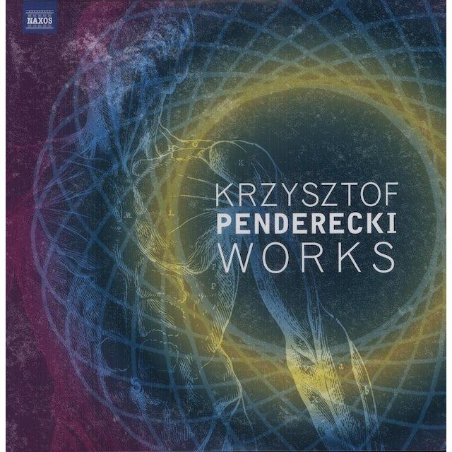 Penderecki / Warsaw Philharmonic Orchestra / Wit KRZYSZTOF PENDERECKI WORKS Vinyl Record
