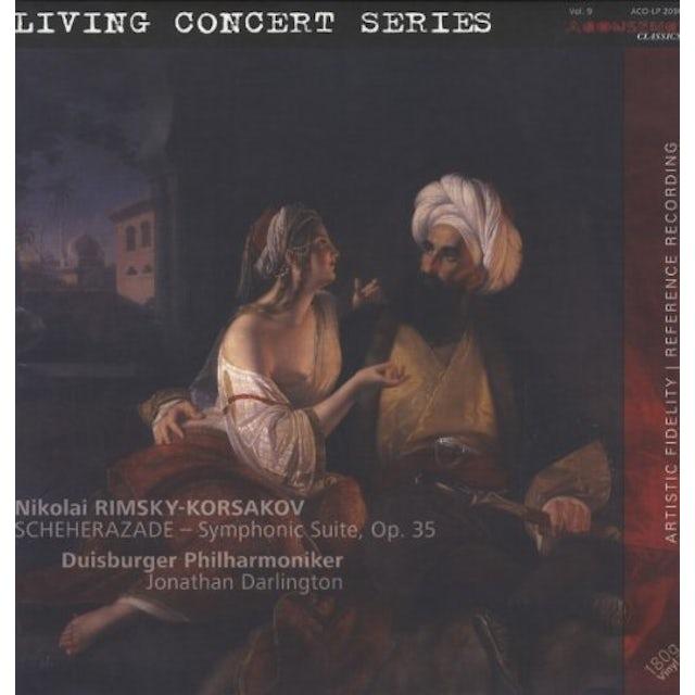 Nikolai / Darlington / Duisburg Philharmonic Orch SCHEHERAZADE Vinyl Record