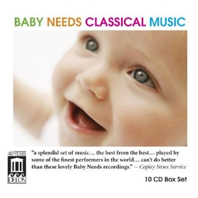 Mozart BABY NEEDS CLASSICAL MUSIC CD