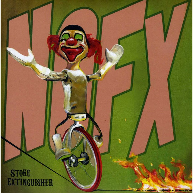 Nofx STOKE EXTINGUISHER Vinyl Record