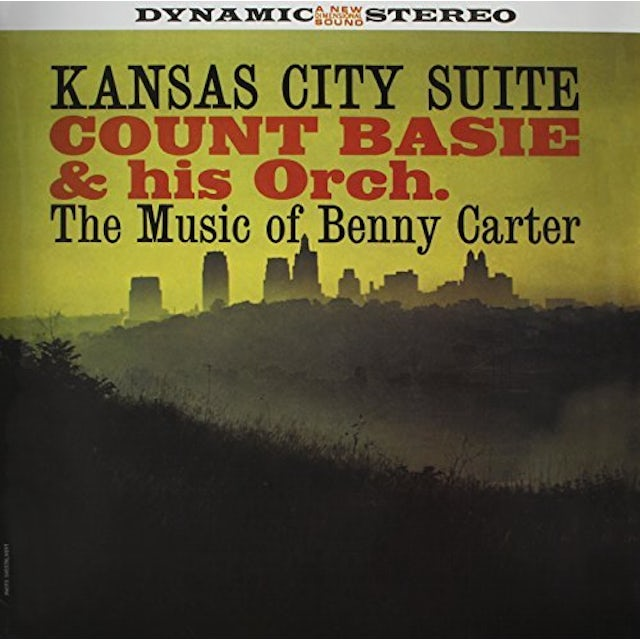 Count Basie KANSAS CITY SUITE: MUSIC OF BENNY CARTER Vinyl Record