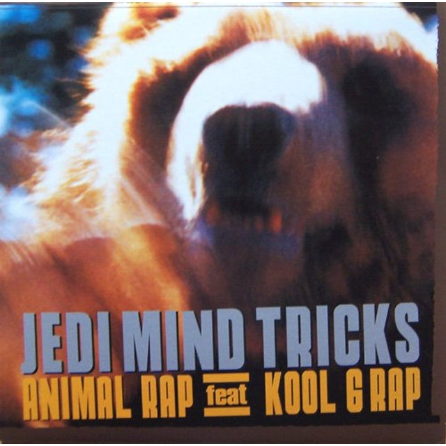 Jedi Mind Tricks ANIMAL RAP Vinyl Record