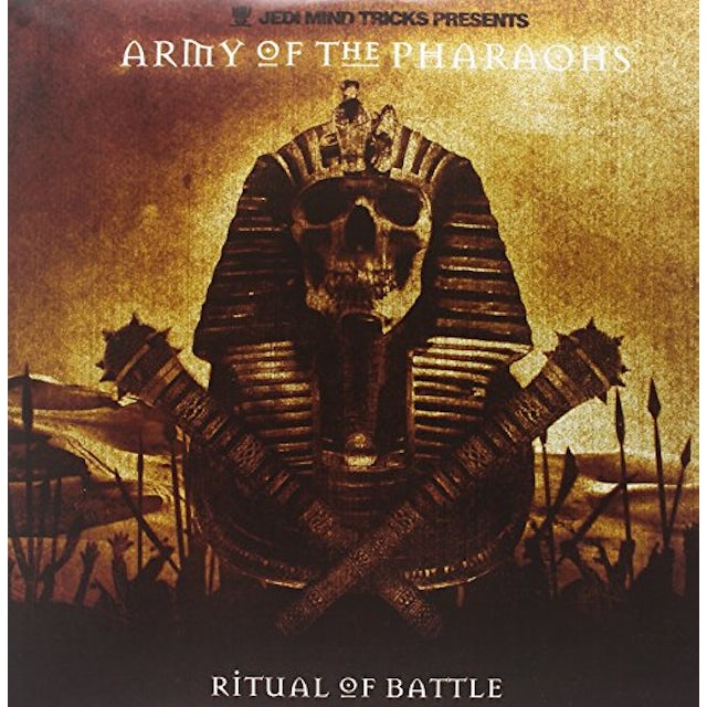Jedi Mind Tricks ARMY OF THE PHARAOHS: RITUAL OF BATTLE Vinyl Record