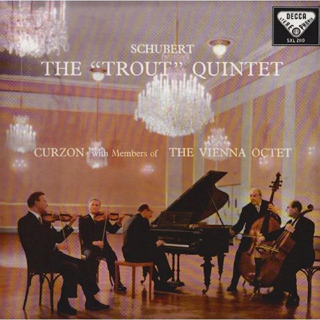 Schubert / Curzon / Vienna Octet TROUT QUINTET Vinyl Record