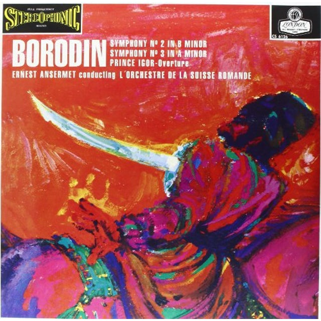 Borodin / Ansermet SYMPHONIES 2 & 3 Vinyl Record