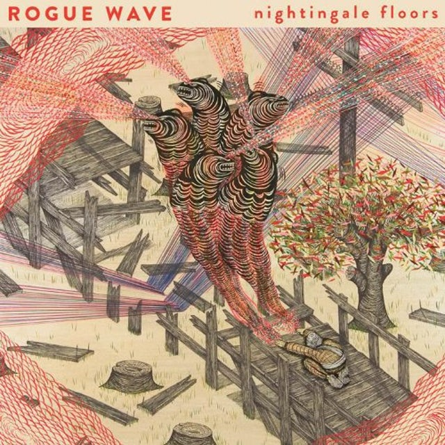 Rogue Wave NIGHTINGALE FLOORS Vinyl Record