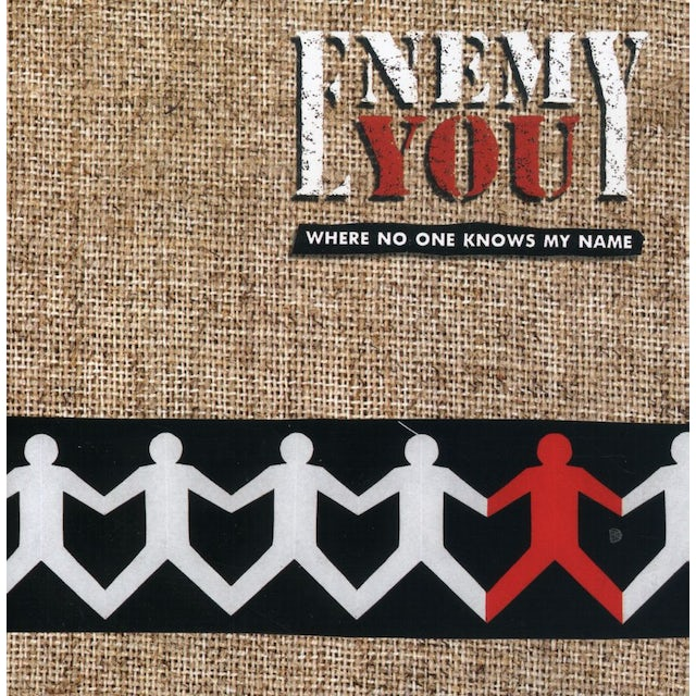 Enemy You WHERE NO ONE KNOWS CD